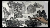 山水画怎样上色 王中年山水画技法视频-小写意画法4_王中年山水画技法3