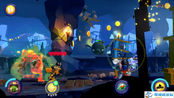 变形金刚愤怒的小鸟 大黄蜂蝙蝠岛遇到丢火球的机器人1