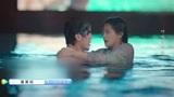 《蓬莱间》白起跳进水里救林夏,湿身白衬衫的白起,太帅了吧