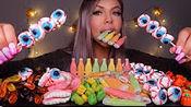 【hunnibee】助眠NIK-L-NIPS蜡瓶糖果饮料,果冻眼球,怪物奶昔,果冻牙齿(2019年10月30日1时50分)