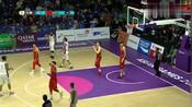 中国男篮:沙拉木精彩进球,被于嘉盛赞:应该是本场最佳进球