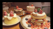CafeVlog.04|开店日常|12月限定草莓套餐|西柚系列饮品|店内圣诞装饰|古都西安