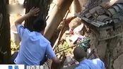 陕西渭南:400公斤野生羚牛疑因求偶失败闯入村庄 撞伤4名村民