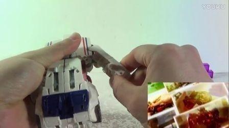 TF—圣贤的变形金刚玩具373,泰坦回归系列加强级夺路