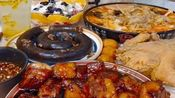 吃播:美食麻辣烫、水果捞、猪蹄筋、红烧肉、菠萝