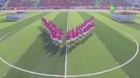 内蒙古一高校运动会开场舞走红网络