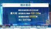 全球累计新冠肺炎确诊病例超33万例 中国以外近25万