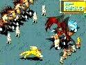 网络游戏回合制网游《石器CC》挑战魔王boss4层2
