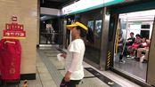 北京地铁4号线069号车圆明园往安河桥北方向出站