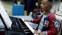 彩云追月 电子琴演奏