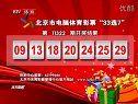 """北京市电脑体育彩票""""33选7""""第11322期开奖结果[天天体育]"""