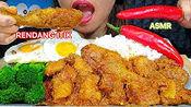 【stella】吃鸭仁堂/仁堂烤肉+鸡蛋+辣椒+西兰花助眠吃声音(2019年10月23日17时45分)