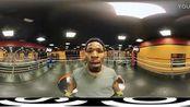 VR视频3D效果 拳击表演