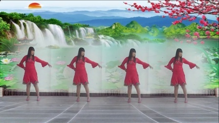 偶遇广场舞 【 还要等多久】编舞:春天