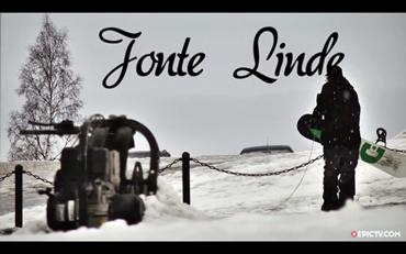 帅爆了瑞典街头玩滑雪板