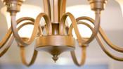 集灯 美式吊灯客厅灯餐厅卧室灯美式乡村现代简约灯具灯饰 5头直径64cm高43cm适用12平左右 不带光源