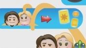 emoji表情版《魔发奇缘》 逗趣表情演绎童话故事