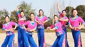 江西鄱阳春英广场舞视频,广场舞《十送红军》含背面分解教学