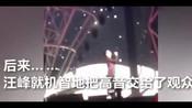 汪峰演唱会现场再次破音 机智应对变成大合唱-好听的歌曲-混视剪影