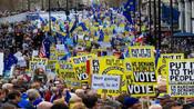 【英国】数百万英国人游行反脱欧 超100万人要求二次脱欧公投-国际万象-爆蕉头条