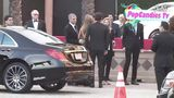Jennifer Aniston & Justin Theroux are Sexy in Gold & Black arriving at 21st SAG