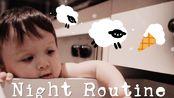 夜间vlog|简单的下酒菜|阿萨健康近况|薯片炸鸡|拌面