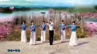 蓝梦广场舞《一枝梅》