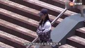 奚梦瑶恋情疑曝光当街上演搂腰杀