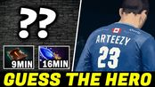 GUESS THE HERO — ARTEEZY Rush Necronomicon Fast Farm Dota 2