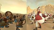 全面战争:战锤2 步兵测试 矮人勇士 VS 帝国剑士