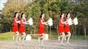 手绢舞【走在一起开心过日子】旋律欢快喜庆,舞步俏皮可爱