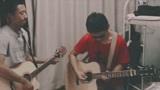 男生宿舍双吉他弹唱郝云《活着》