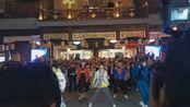 10月27日王者荣耀四周年上海豫园18:00场无限王者团舞蹈