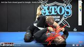Arm bar triangle from closed guard睫毛哥
