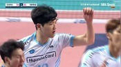 【19-20韩国男排联赛】第32轮(第五循环):Woori Card vs Korean Air Jumbo...