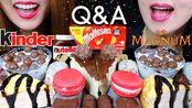 【kim&liz】最受欢迎的甜点(Nutella Cheesecake、绉纱蛋糕、Magnum冰淇淋、麦芽酱店)Kim&Liz(2019年9月2日22时46分)