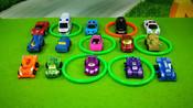 套圈游戏之汽车玩具大集合-亲子益智玩具-嘉爱宝贝