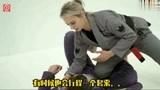 巴西柔术女神Ffion Davies切膝过腿教学!肤白貌美大长腿