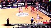 周琦这个球展现了NBA级别水准,不愧是亚洲杜兰特!
