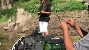 EG小姐姐LAYLA又出发 Bass .fishing+初夏+深水倒钓