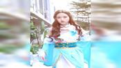 #神武3 精致女孩凌霜月,是什么时候都不怕冷的!