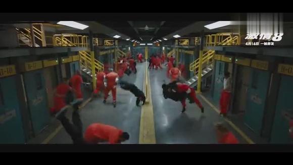 速度与激情8 德卡特·肖(杰森·斯坦森)引监狱暴动趁机出逃