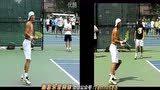 纳达尔正反手练习慢动作 南昌乐享网球