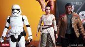 大人玩具开箱 大人的玩具Hot Toys  MMS337  星际大战七部曲:原力觉醒 Rey & BB-8 组合包 开箱