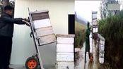 民间发明的搬运升降车,已申请发明专利!
