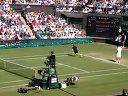 2011溫網Federer第三輪比賽賽末點