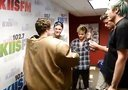 Bradley Will Simpson has fun in a sumo suit - 102.7 KIIS FM