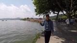 杭州西湖十景之断桥残雪,平湖秋月,湖光山色尽收眼底