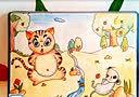 惠州美术培训大双艺术教育创意画教案