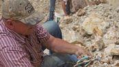 矿工挖出大量蓝绿色奇石 后来发现这是最古老宝石之一!